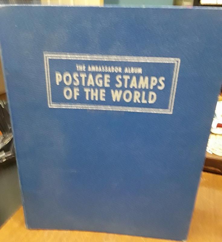 1960 Harris Ambassador stamp album / HipStamp