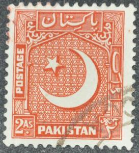 DYNAMITE Stamps: Pakistan Scott #49 - USED