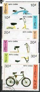 Vietnam; Scott 1957 to 1962; 1989;  Used