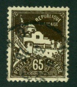 Algeria 1927 #52 U SCV (2020) = $2.40
