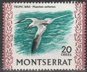 Montserrat #238 F-VF Unused  (S7133)