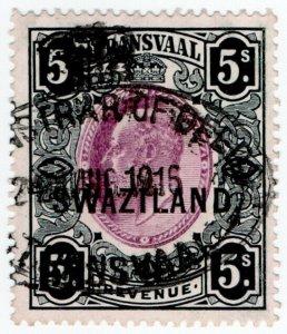 (I.B-BOB) Swaziland Revenue : Duty Stamp 5/-