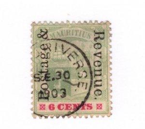 Mauritius #119 Used - Stamp CAT VALUE $3.25