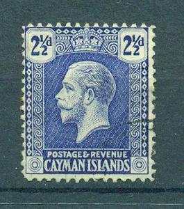 Cayman Islands sc# 55 used cat value $.60