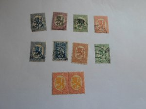 FINLAND STAMPS LOT OF 10 stamps ( used ) # 8