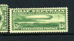 Scott C13 Graf Zeppelin Mint Stamp NH with PSE Cert (Stock  C13-95p)