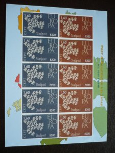 Europa 1961 - Netherlands - Post & Mail Centre Lelystad Labels