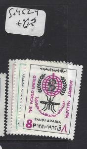 SAUDI ARABIA (P0102B)  MALARIA SG 452-4   MOG