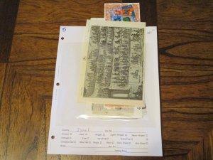 Israel Souvenir Sheet Lot Mint Never Hinged- (KB8) WDWPhilatelic #3