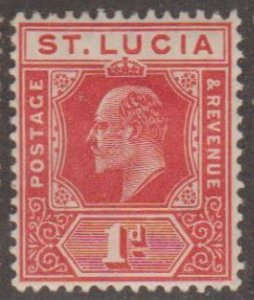 St. Lucia Scott #58 Stamp - Mint Single