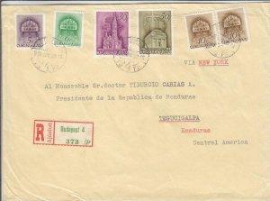 1939, Budapest, Hungary to Tegucigalpa, Honduras, See Remark (24418)