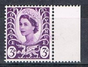 GREAT BRITAIN (Wales) 180133 - 1967-9 3d MNH single