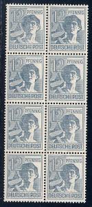 Germany AM-Post Scott # 561, b/8, mint nh