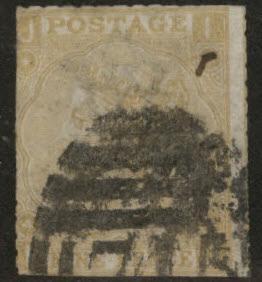 Great Britain Scott 52, 1869 Victoria 9p FAULTY CV$300
