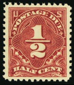 J68, Mint Superb NH 1/2¢ Very Nice Centering A GEM -- Stuart Katz