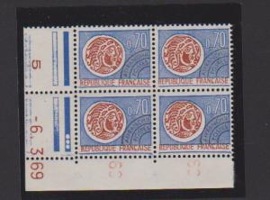 FRANCE #1242 STAMP MNH IN BLOCK  LOT#F15