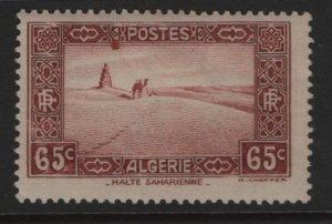 ALGERIA, 91, HINGED, 1936-41, Travel across the Sahara