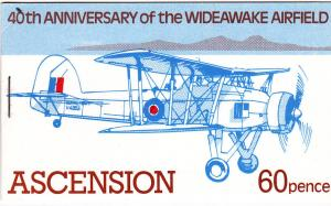 Ascension 310a Booklet MNH Planes