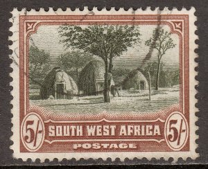South West Africa - Scott #118a - Used - SCV $3.25