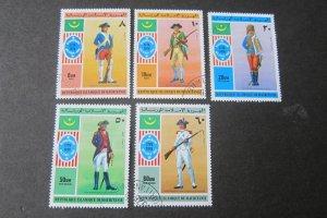 Mauritania 1976 Sc 341-42,C160-62 CTO set FU
