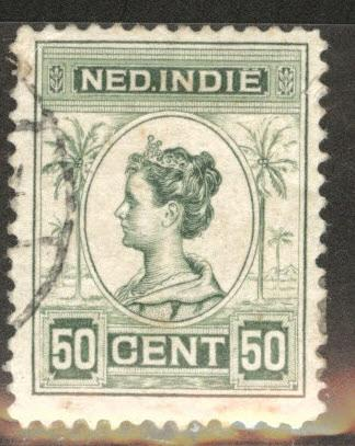 Netherlands Indies  Scott 131 used  from 1912-20 set
