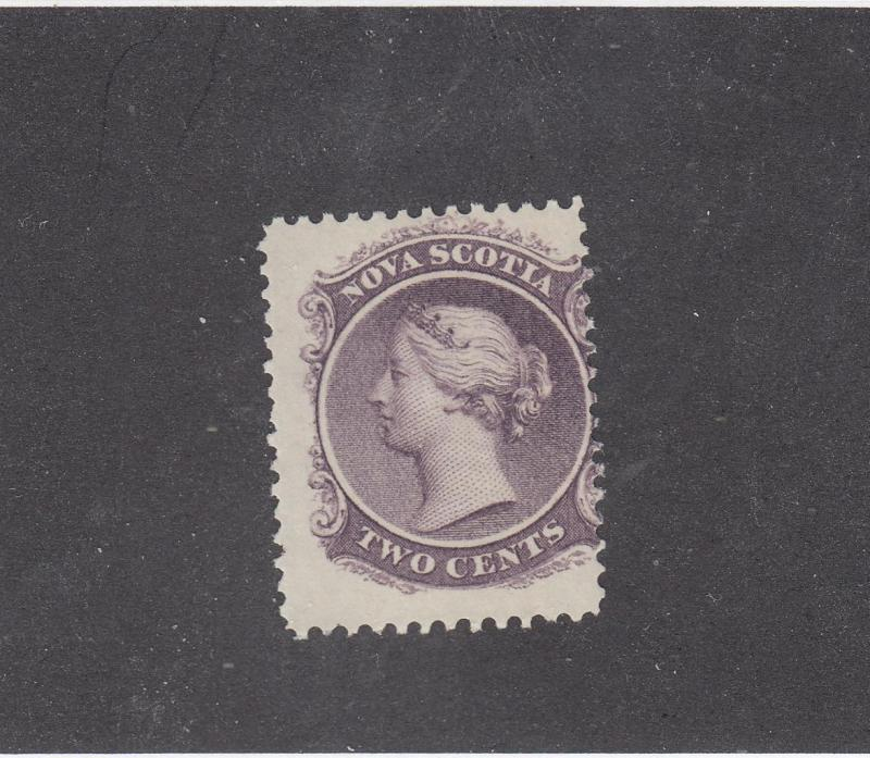 NOVA SCOTIA # 9 F-MLH 2cts  QV LILAC  CAT VALUE $15
