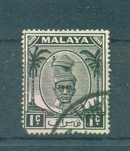 Malaya - Perak sc# 105 used cat value $.50