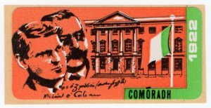 (I.B) Ireland Political : Sinn Fein Label (General Post Office 1922)