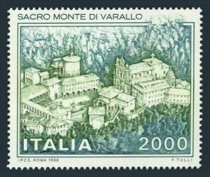 Italy 1680,hinged.Michel 1979. Sacro Monte di Varallo Monastery,1986.