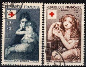 France #B291-2  F-VF Used   CV $10.50  (X7016)