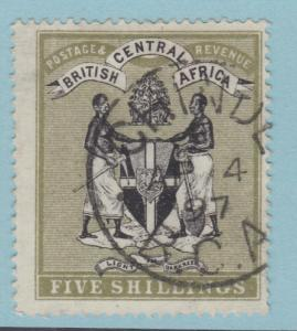 BRITISH CENTRAL AFRICA 28 NO FAULTS VERY FINE