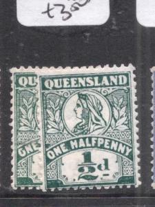 Queensland SG 286-7 MOG (9dls)