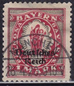 Bavaria 266 Madonna & Child O/P 1920
