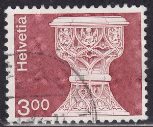 Switzerland 578 USED 1973 Saanen St. Maurice Church