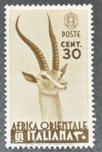 DYNAMITE Stamps: Italian East Africa Scott #8 – MINT hr
