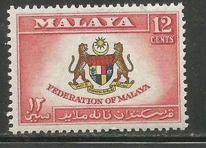 MALAYA  85  MNH,  UNITED NATIONS EMBLEM