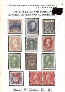 United States and Foreign Stamps, Covers and Autographs, ...