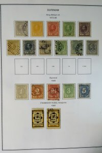 Suriname Loaded 1800s to 1980s Essential Stamp Collection
