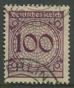 STAMP STATION PERTH Germany #328 General Issue Used 1923