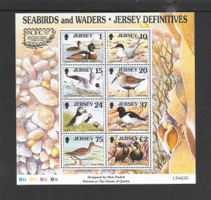 BIRDS - JERSEY #785b  PACIFIC '97 LOGO  MNH