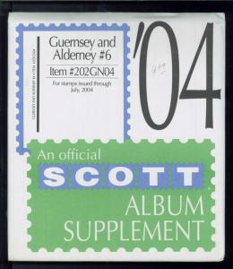 2004 Scott #6 Guernsey & Alderney Stamp Album Supplement Item #202GN04
