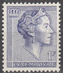 Luxembourg #366  MNH F-VF (SU2678)