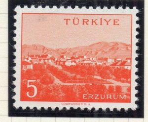 Turkey 1958-60 Early Issue Fine Mint Hinged 5p. NW-17524