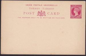 TRINIDAD QV 1d postcard fine unused.........................................5398