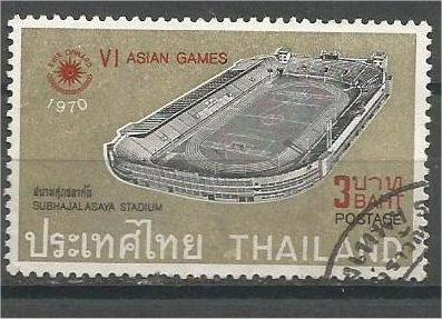 THAILAND, 1970, used 3b, Asian Games. Scott 555