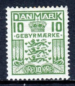 Denmark - Scott #I2 - MH - Small thin, pulled perf UR cnr. - SCV $9.00