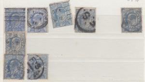 GB KEVII 1902 2 1/2d 15 x 14 Study Collection J760