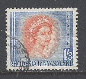 Rhodesia & Nyasaland Sc # 150 used (RS)