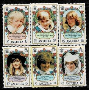 Anguilla 1982 21st Birthday of Princess Diana MNH