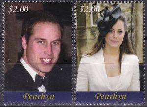 Penrhyn Island #476-7   MNH CV $6.50   (A19881)